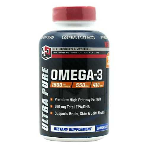 4 Dimension Nutrition Ultra Pure Omega-3