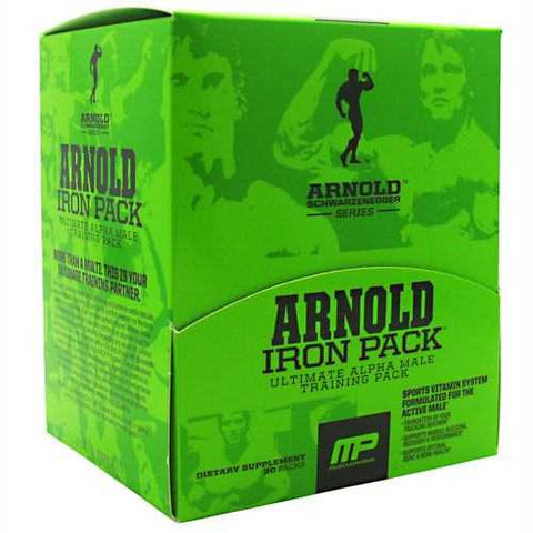Arnold By Musclepharm Iron Pack