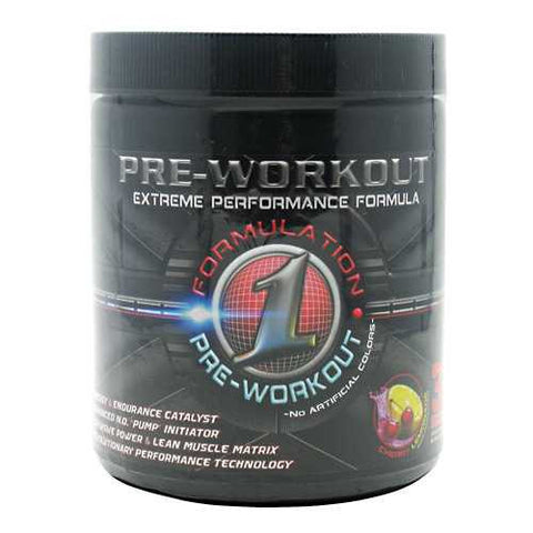 Formulation One Nutrition Pre-Workout