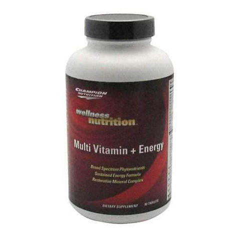 Champion Nutrition Wellness Nutrition Multi Vitamin + Energy