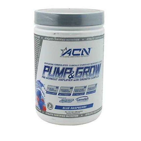Athlete Certified Nutrition Pump and Grow