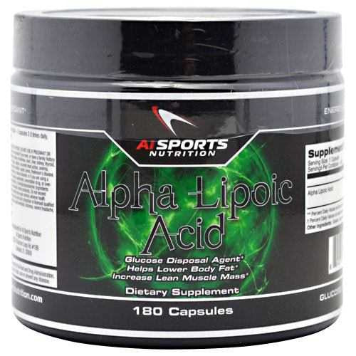 AI Sports Nutrition Alpha Lipoic Acid