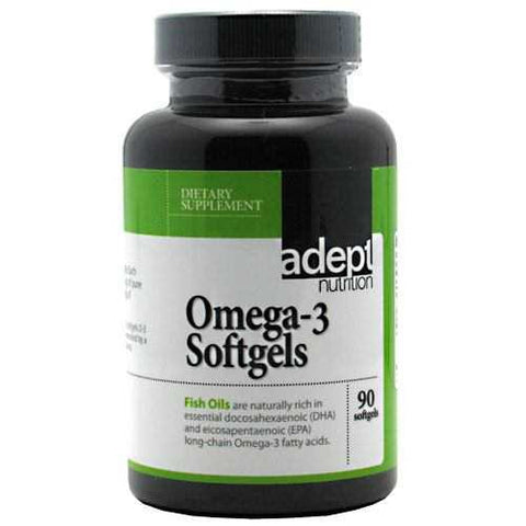 Adept Nutrition Omega-3 Softgels