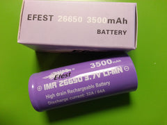 26650 Lithium High Drain Battery