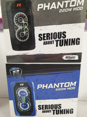 The REV-Tech Phantom 220W TC Box Mod