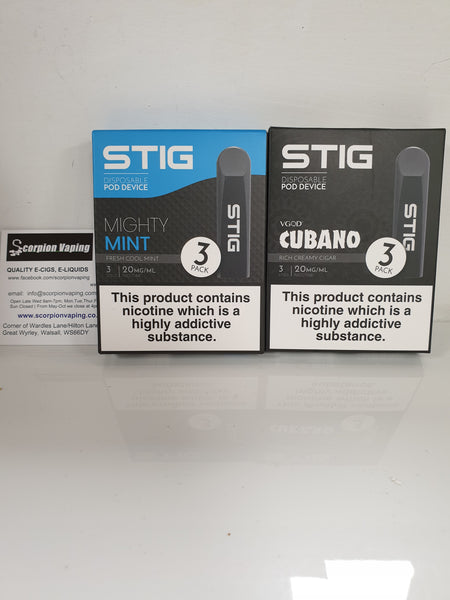 VGOD Stig Disposable Pods
