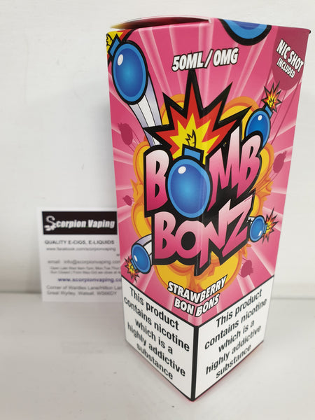 Bomb Bonz Strawberry Bon Bons Flavour E Liquid