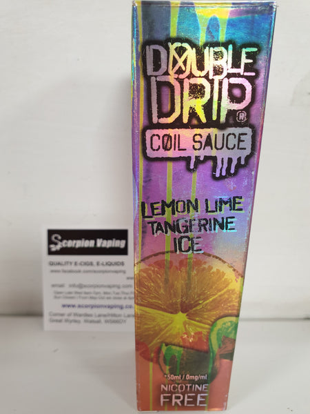Lemon Lime Tangerine Ice Coil Sauce eliquid by Double Drip