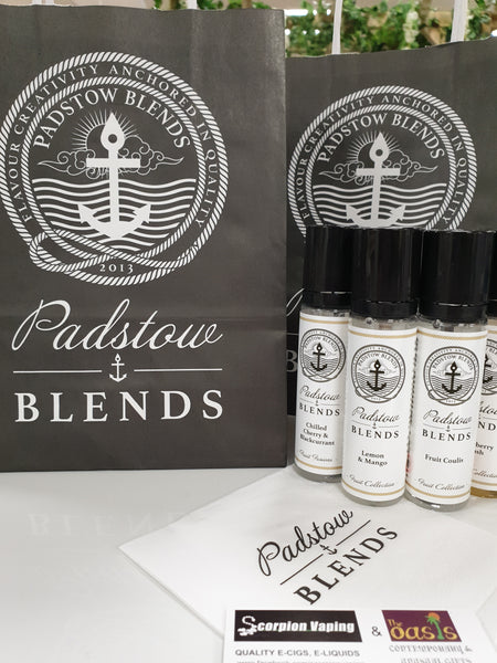 Chilled Lemon Sherbet E-Liquid from Padstow Blends