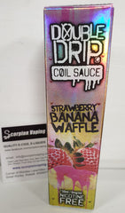 Strawberry Banana Waffle Coil Sauce eliquid by Double Drip