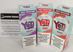 Yeti Nic Salts Strawberry