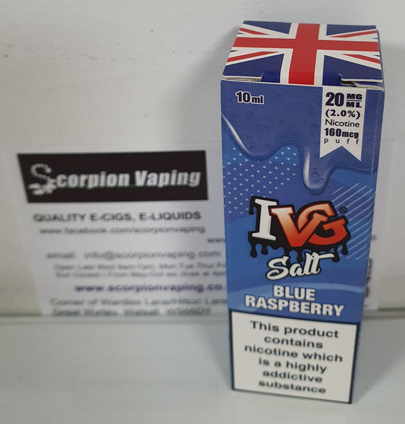 IVG Nic Salt Blue Raspberry