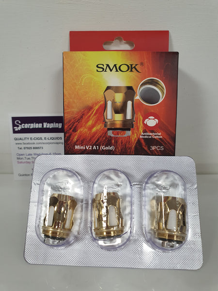 Smok Mini V2 Coils A1 Gold