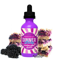 Dinner Lady Blackberry Crumble Eliquid
