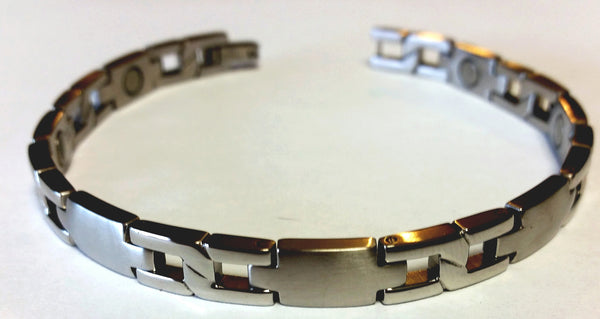 Magnetic Stainless Steel Health Bangle - HT0004S