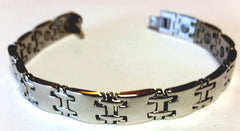 Magnetic Stainless Steel Health Bangle - HT0005S