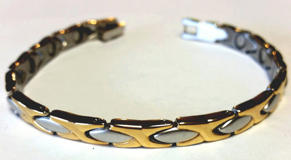 Magnetic Stainless Steel Health Bangle - HT0008S
