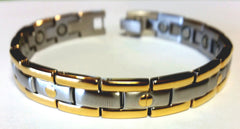Magnetic Stainless Steel Health Bangle - HT0010S