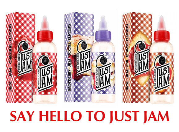 Just  Jam - Raspberry Jam E Liquid Multipack