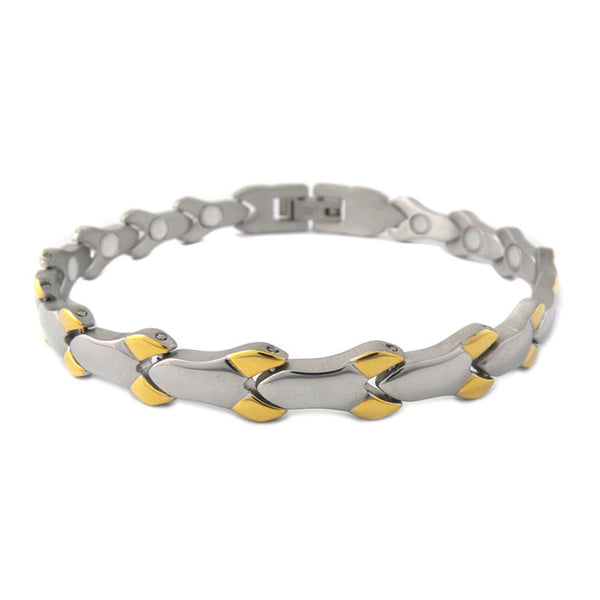 Stainless Arthritic Bangle RO007s