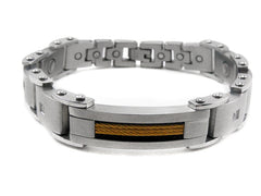 Arthritic Stainless Steel Health Bangle RO006S