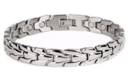 Magnetic Stainless Steel Bangle for Arthritis RO0019S