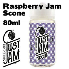 Just Jam Raspberry Jam Scone E Liquid