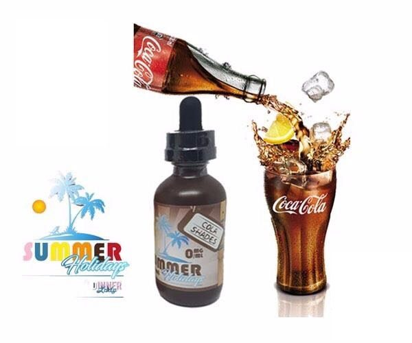 Cola Shades from Dinner Lady Summer Holidays Eliquid