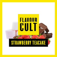 Flavour Cult Eliquid Strawberry Teacake