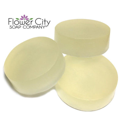 Aloe Natural Glycerin Soap with Tea Tree, Eucalyptus & Peppermint Essential Oils - Flower City Soap Company