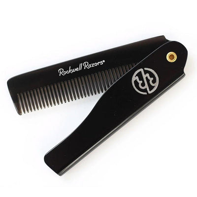 Rockwell Hair Styling Folding Pocket Comb - Flower City Soap Company