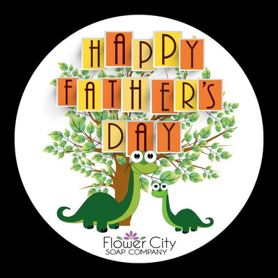 Happy Father's Day Gift Bag - Flower City Soap Company