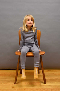 Merino Child Thermal Set Storm