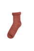 Merino Lounge Socks Adult Rust