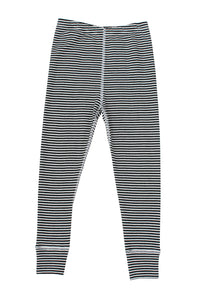 nui organic merino thermal rib leggings B+W stripe