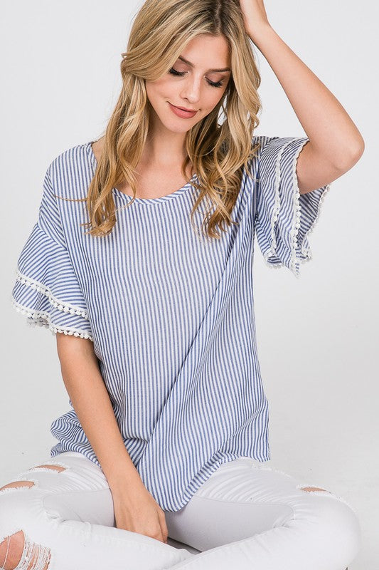 Ruffle Layer Blouse - Trunk Up
