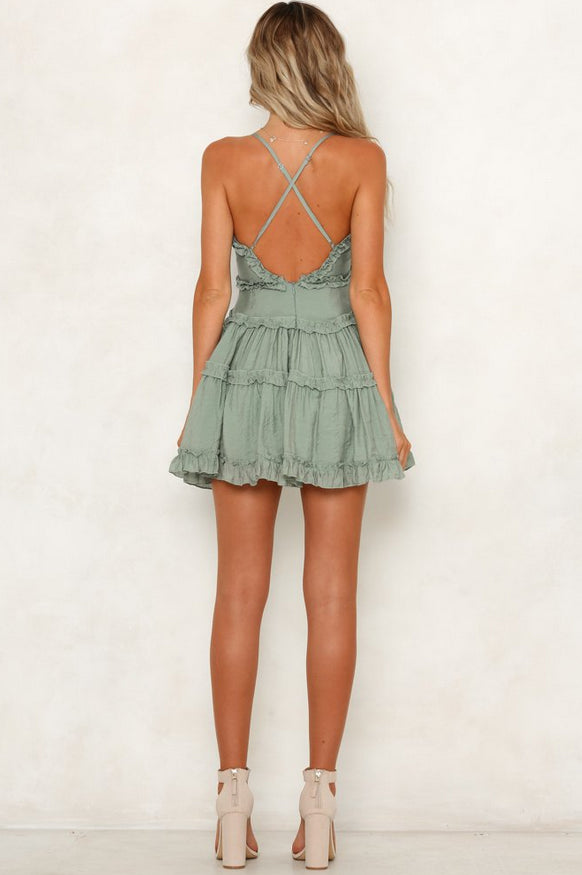 Summer Sage Dress - Trunk Up