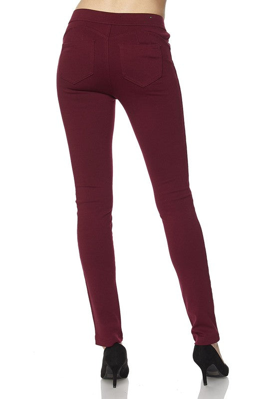 Skinny Stretch Pants - Trunk Up