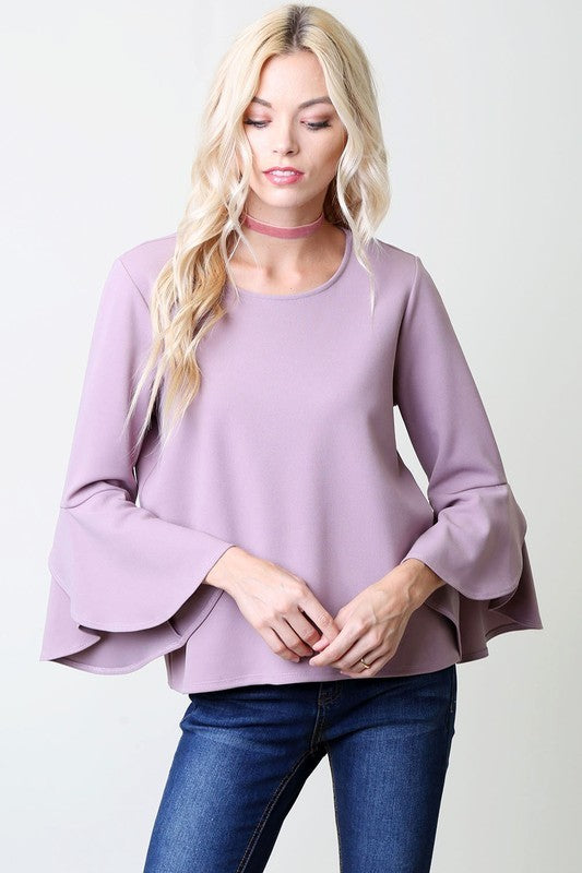 Lavender Belle Top - Trunk Up