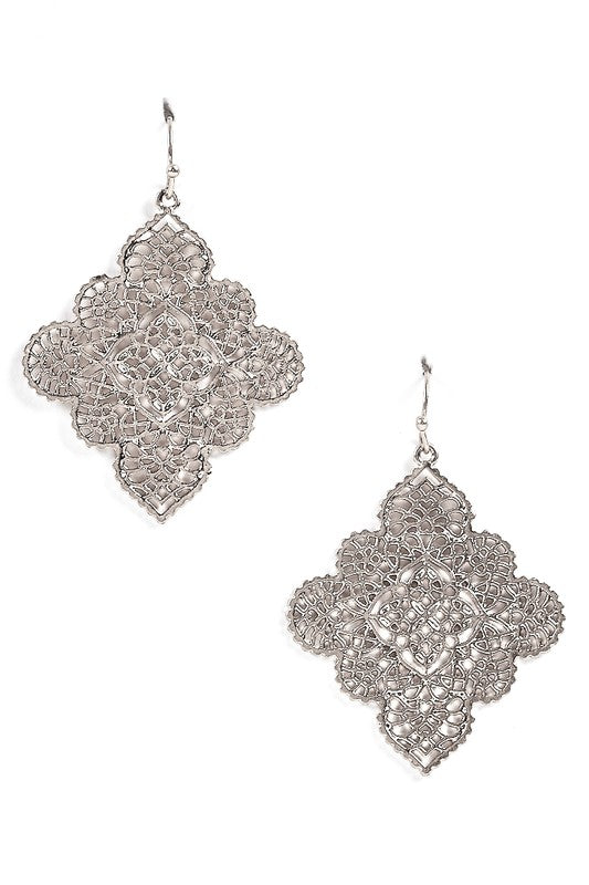 Silver Queen Earrings - Trunk Up
