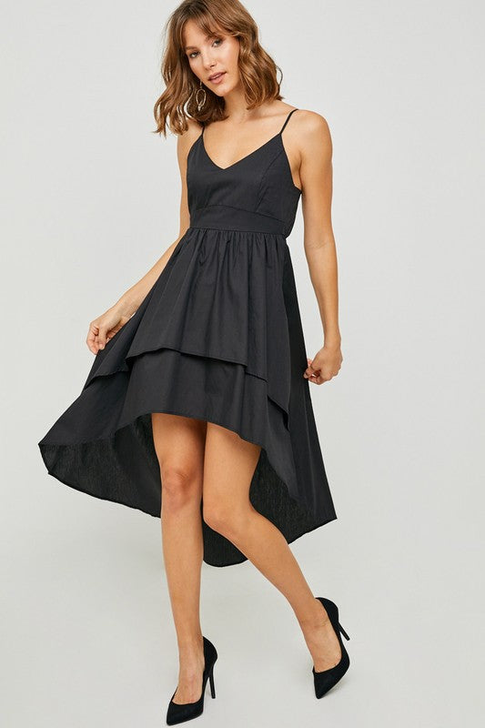Ruffle High-Low Dress - Trunk Up