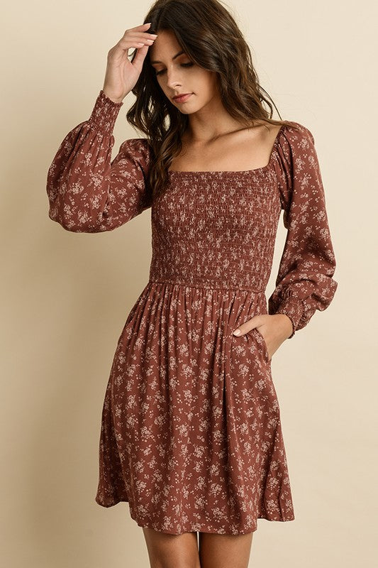 Versatile Floral Dress - Trunk Up
