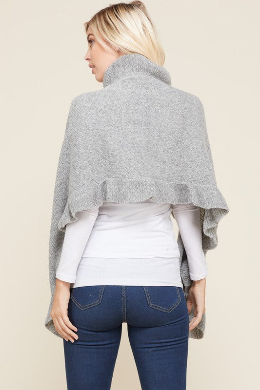 Soft Ruffle Shawl - Trunk Up