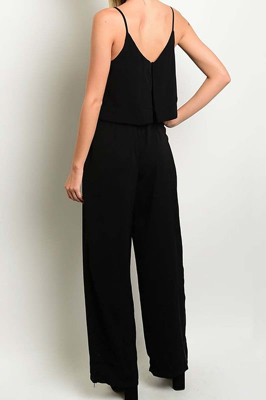 V-Neck Jumpsuit - Trunk Up