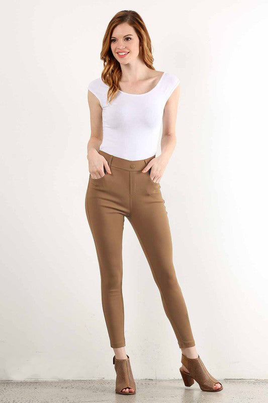 Cotton Blend Jeggings - Trunk Up