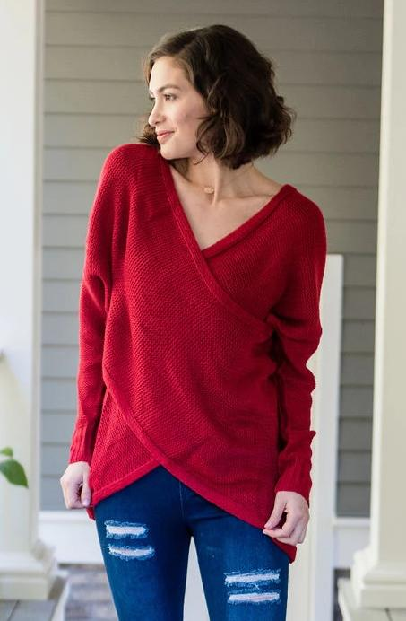 Plunge Sweater
