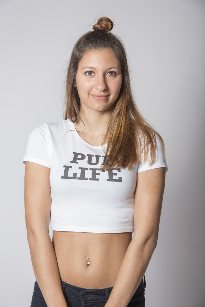 PUP LIFE Crop Top - TU Tees - Trunk Up - 1