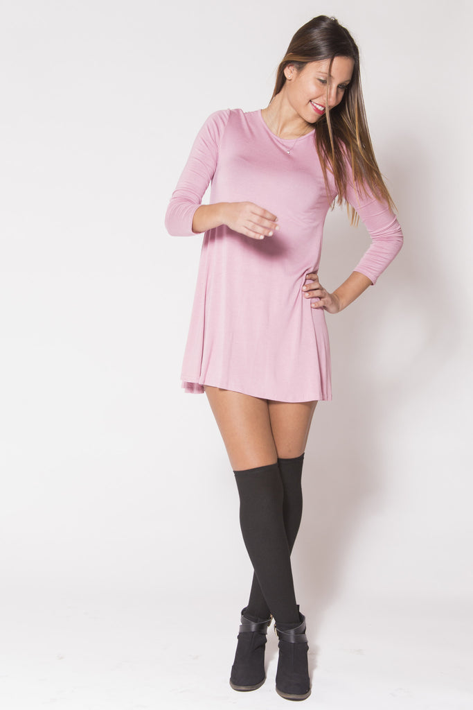 Light Rose Dress - Trunk Up - 1