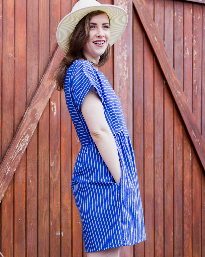 Everly Striped Dress - Trunk Up