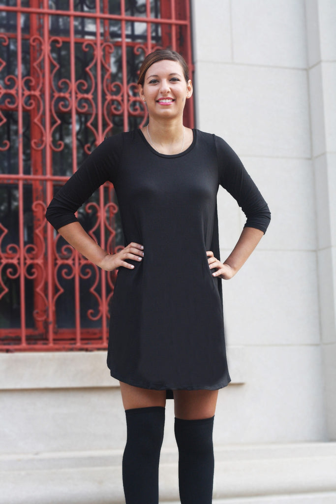 Black Pocket Dress - Trunk Up